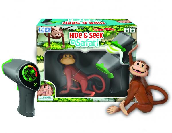 Hide and Seek Safari Monkey II