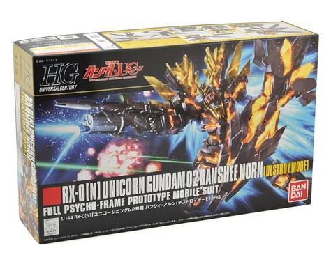 Bandai Hobby (Gunpla): RX-0[N] Banshee Norn Destroy Mode Gundam #175