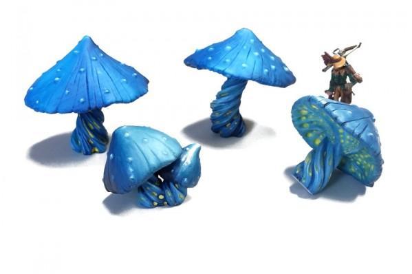 Terrain Accessories: Giant Mushrooms (4 pcs)
