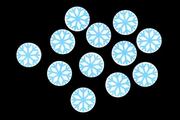 Game Accessories: Freezing  Hero Tokens (12)