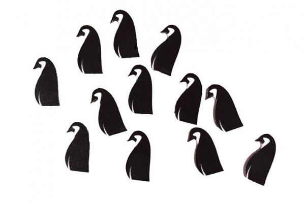 Game Accessories: Penguin Hero Tokens (12)
