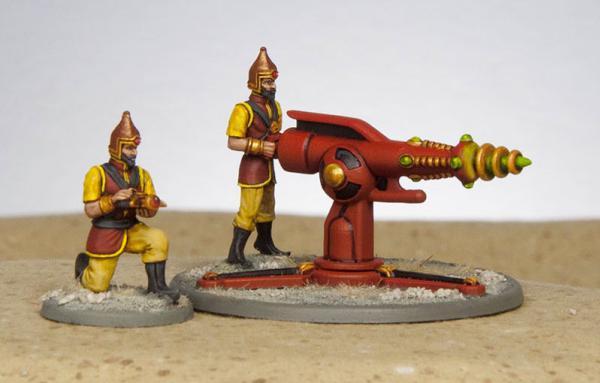 Retro Raygun: Electro Cannon w/crew