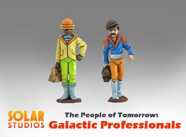 28mm Sci Fi: Galactic Professionals