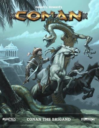 Conan RPG: Conan The Brigand (Supplement) (HC)