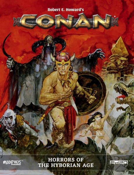 Conan RPG: Horrors of the Hyborian Age (Supplement) (HC)
