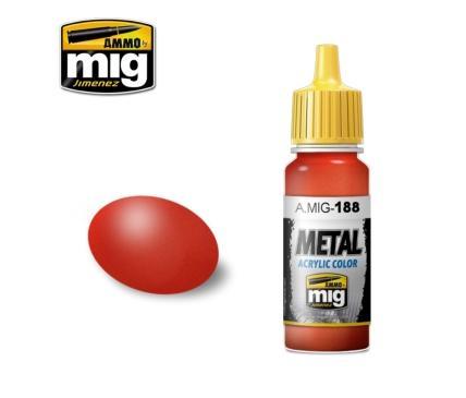 AMMO: Acrylic Paint (Metallic) - Metallic Red (17ml)