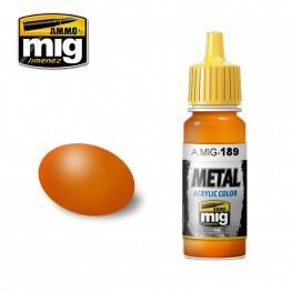 AMMO: Acrylic Paint (Metallic) - Metallic Orange (17ml)
