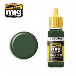 AMMO: Acrylic Paint - FS 34092 Medium Green (17ml)