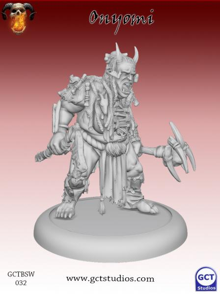 Bushido Miniatures: (Savage Wave) Onyomi