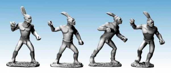 28mm Modern: Darkest Africa - Dinka Spearmen I (4)