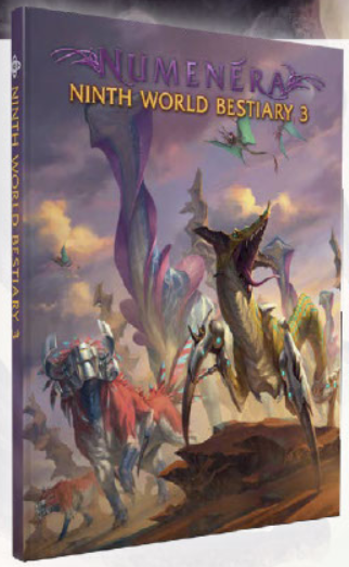 Numenera RPG: Ninth World Bestiary 3 (HC)
