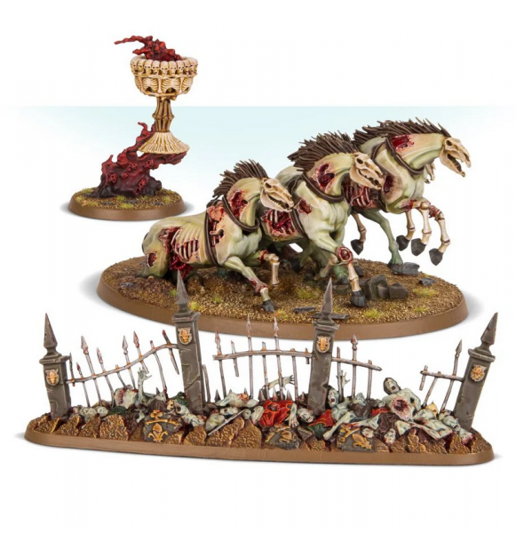 Age of Sigmar: Endless Spells - Flesh Eater Courts