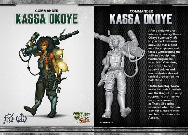 The Other Side (King's Empire): Kassa Okoye