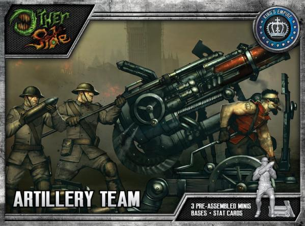 The Other Side (King's Empire): Artillery Team