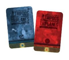 Tripods & Triplanes: Additional Damage Decks (Wings of Glory compatible)