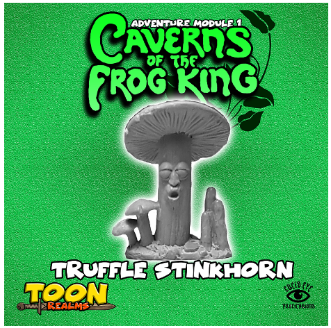 28mm Fantasy: Caverns of the Frog King - Truffle Stinkhorn