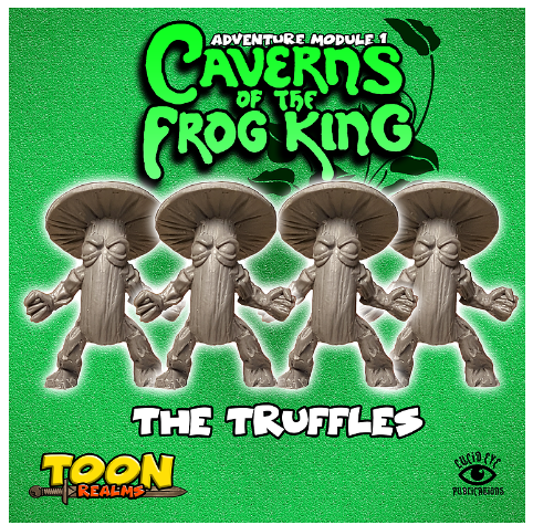 28mm Fantasy: Caverns of the Frog King - The Truffles (4)