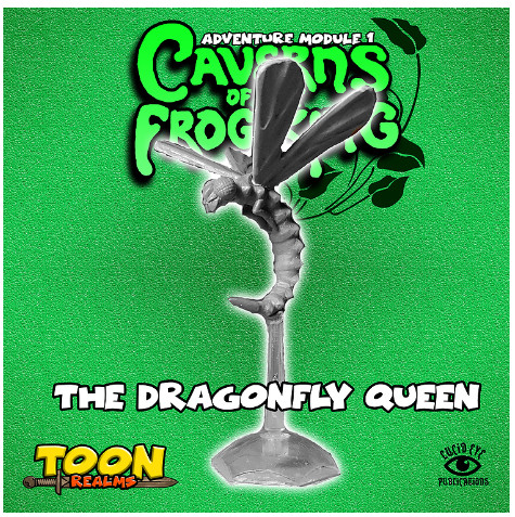 28mm Fantasy: Caverns of the Frog King - The Dragonfly Queen