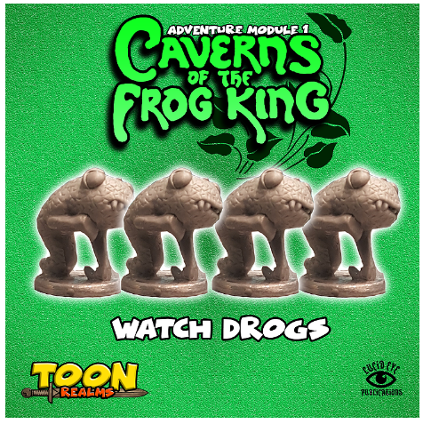 28mm Fantasy: Caverns of the Frog King - Watch Drogs (4)