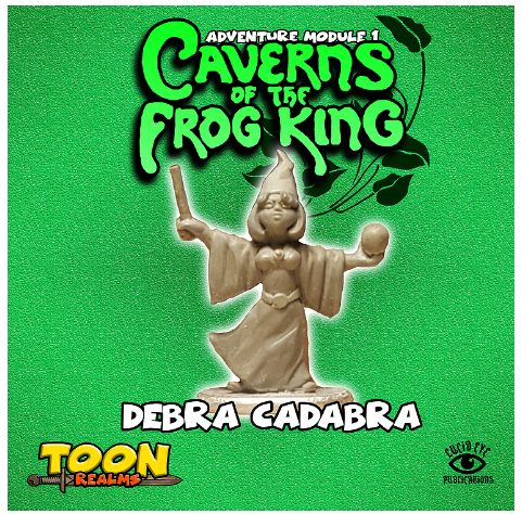 28mm Fantasy: Caverns of the Frog King - Debra Cadabra