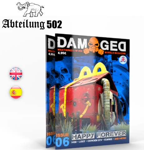 Damaged Magazine: Issue 06