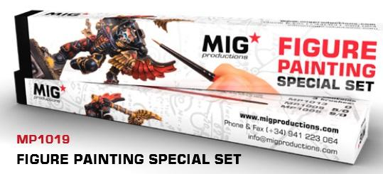 MIG Productions: Marta Kolinsky High Quality Modeling Brushes - Figure Painting Special Set