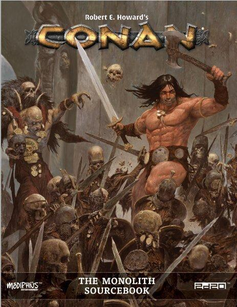Conan RPG: The Monolith (HC)