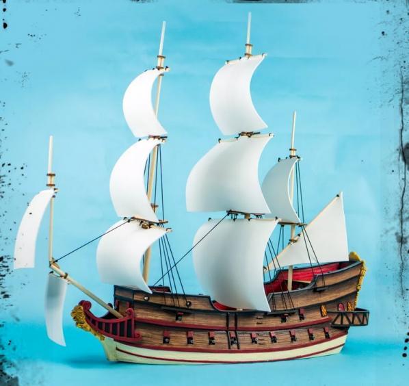 Blood & Plunder: (Ships) Galleon Ship