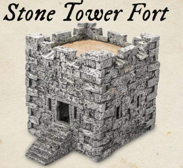 Blood & Plunder: (Terrain) Stone Tower Fort