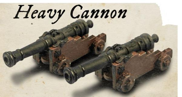 Blood & Plunder: (Accessory) Heavy Cannon