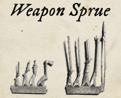 Blood & Plunder: (Accessory) Weapons Sprue