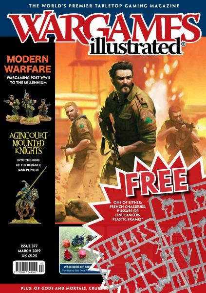 Wargames Illustrated Magazine #377 (with free sprue)