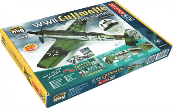AMMO: WWII Luftwaffe Late War Fighters Solution Box
