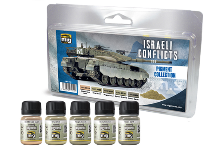 AMMO: Pigments - Israeli Conflicts Pigment Collection