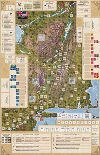 Strategy & Tactics Magazine: #316 Campaigns of 1777