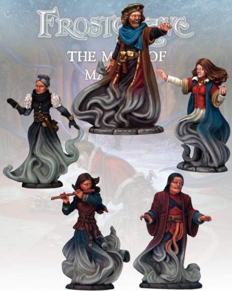 Frostgrave: Wizard Shades (5)