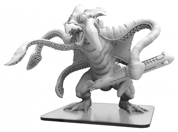 Monsterpocalypse: Krakenoctus – Monsterpocalypse Triton Monster (resin)