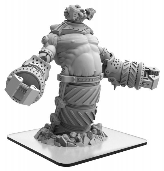 Monsterpocalypse: Hammerklak – Monsterpocalypse Subterran Uprising Monster (metal/resin)