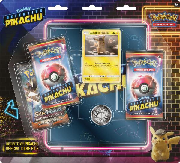 Pokemon CCG: Detective Pikachu Special Case File