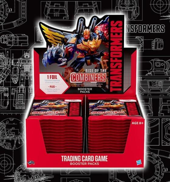 Transformers TCG: Rise of the Combiners Booster Pack (1)