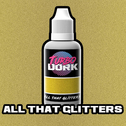 Turbo Dork Paints: Flourish Acrylic - All That Glitters (20 ml)