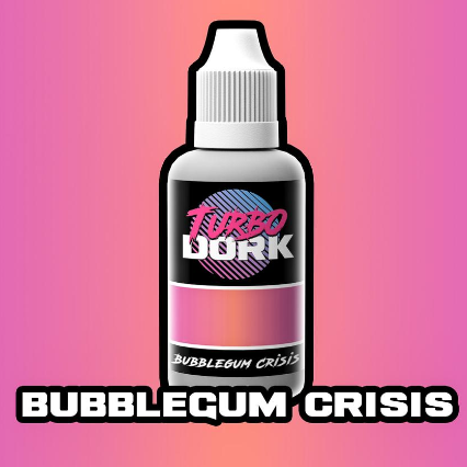 Turbo Dork Paints: Colorshift Acrylic - Bubblegum Crisis (20 ml)