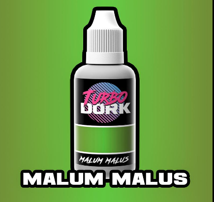Turbo Dork Paints: Metallic Acrylic - Malum Malus (20 ml)