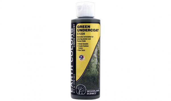 Woodland Scenics: Green Undercoat Terrain Paint (8oz)