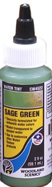 Woodland Scenics: (Terrain Accessories) Water Tint - Sage Green (2oz)