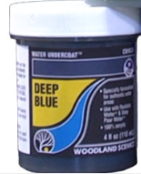 Woodland Scenics: (Terrain Accessories) Water Undercoat - Deep Blue