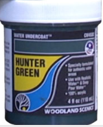 Woodland Scenics: (Terrain Accessories) Water Undercoat - Hunter Green