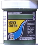 Woodland Scenics: (Terrain Accessories) Water Undercoat - Moss Green