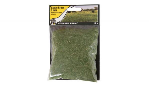 Woodland Scenics: 7mm Static Grass - Medium Green