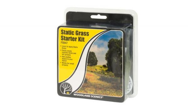 Woodland Scenics: Static Grass Starter Kit